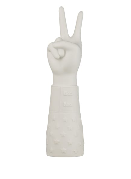 JONATHAN ADLER Dekofigur PEACE HAND , Farbe: WEISS (Bild 1)
