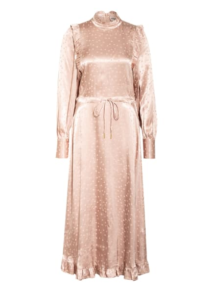 ESSENTIEL ANTWERP Jacquard-Kleid ZANEL , Farbe: NUDE (Bild 1)