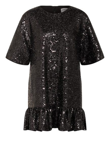 ESSENTIEL ANTWERP Kleid ZONDERLING mit Paillettenbesatz , Farbe: SCHWARZ (Bild 1)