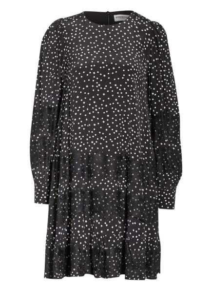 ESSENTIEL ANTWERP Kleid ZALZA mit Spitzenbesatz , Farbe: SCHWARZ/ WEISS (Bild 1)