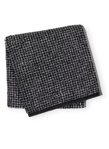 Cawö Handtuch ZOOM , Farbe: SCHWARZ/ WEISS (Bild 1)