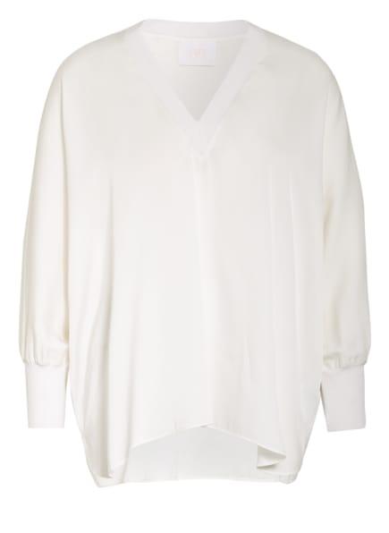 IVI collection Blusenshirt aus Seide, Farbe: WEISS (Bild 1)