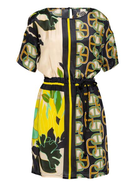 CATNOIR Kleid , Farbe: SCHWARZ/ BEIGE/ GRÜN (Bild 1)