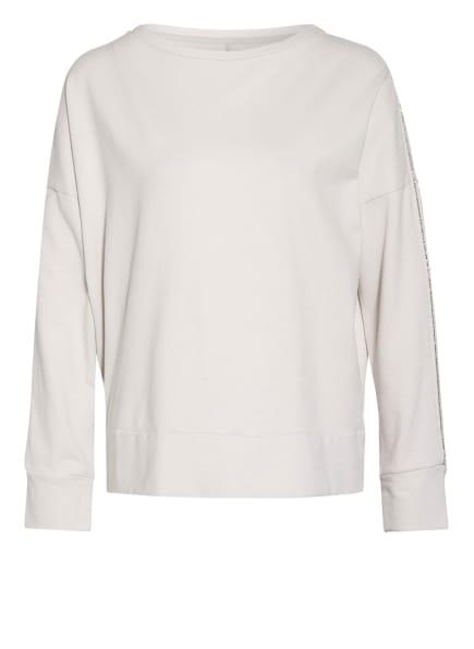 Juvia Sweatshirt mit Perlenbesatz, Farbe: CREME (Bild 1)