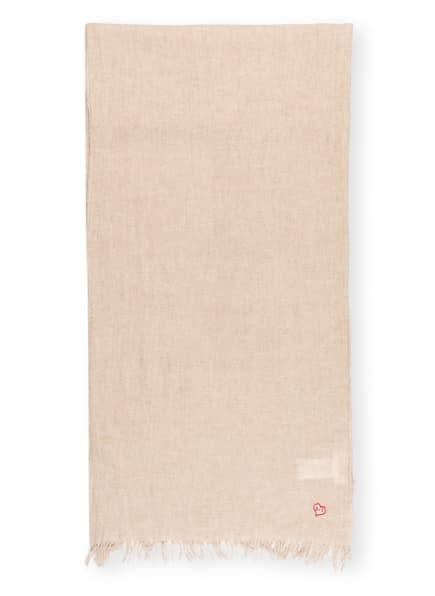 ba&sh Schal EMILIA mit Cashmere, Farbe: NUDE (Bild 1)