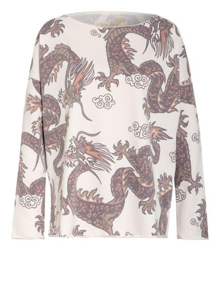 Juvia Sweatshirt, Farbe: ECRU/ BRAUN (Bild 1)