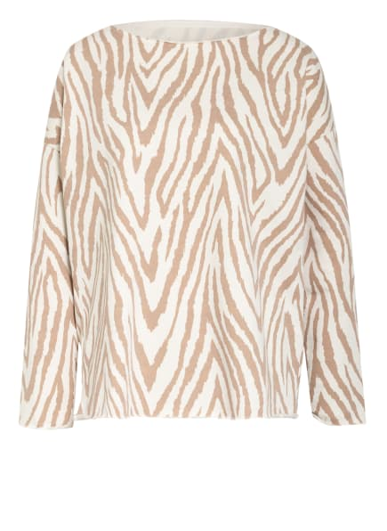 Juvia Sweatshirt, Farbe: ECRU/ CAMEL (Bild 1)