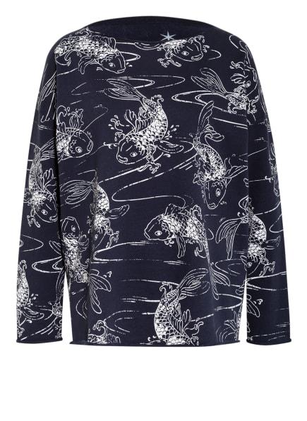 Juvia Sweatshirt , Farbe: DUNKELBLAU/ HELLGRAU (Bild 1)
