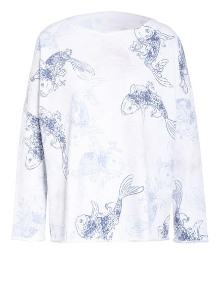 Juvia Sweatshirt , Farbe: WEISS/ HELLBLAU/ DUNKELGRAU (Bild 1)