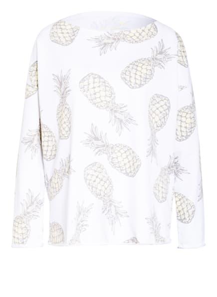 Juvia Sweatshirt , Farbe: WEISS/ HELLGELB/ OLIV (Bild 1)