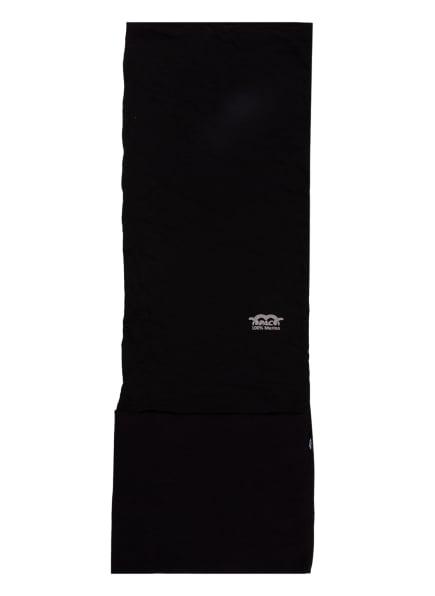 P.A.C. Multifunktionstuch MERINO FLEECE aus Merinowolle, Farbe: SCHWARZ (Bild 1)