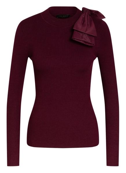 TED BAKER Pullover AMBHER, Farbe: DUNKELROT (Bild 1)