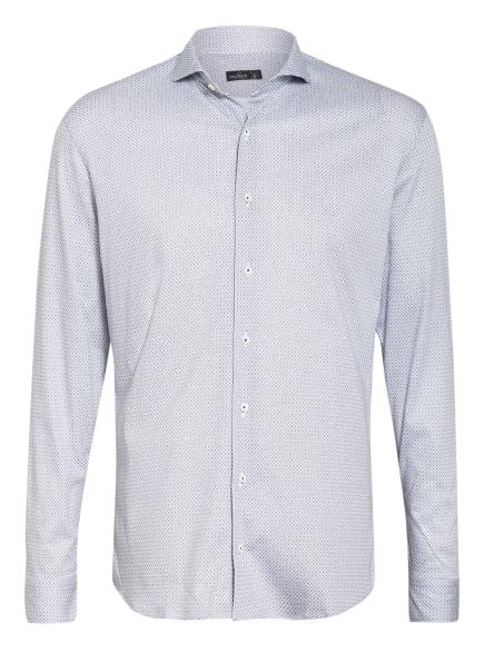 van Laack Jerseyhemd PER Slim Fit, Farbe: WEISS/ BLAU (Bild 1)