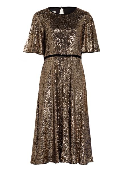 HOBBS Kleid BETSEY mit Paillettenbesatz, Farbe: SCHWARZ/ GOLD (Bild 1)
