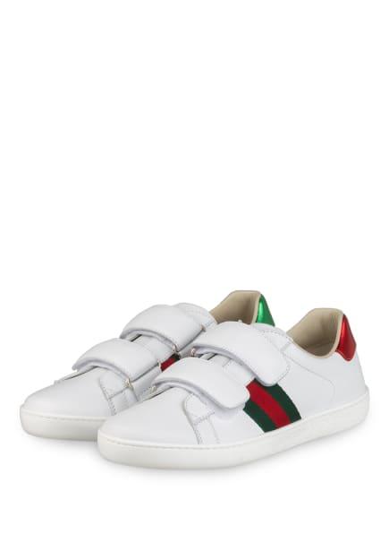 GUCCI Sneaker , Farbe: 9085 white/vrv/rose (Bild 1)