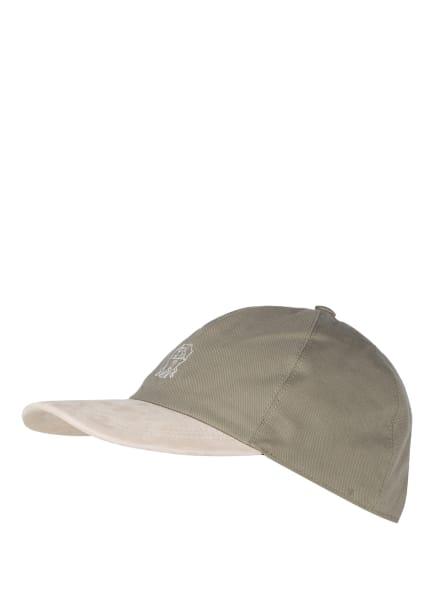 BRUNELLO CUCINELLI Cap, Farbe: OLIV/ CREME (Bild 1)