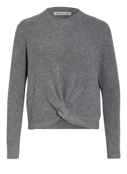 WHISTLES Pullover, Farbe: GRAU (Bild 1)