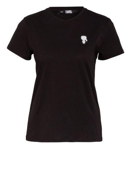 KARL LAGERFELD T-Shirt IKONIK, Farbe: SCHWARZ (Bild 1)