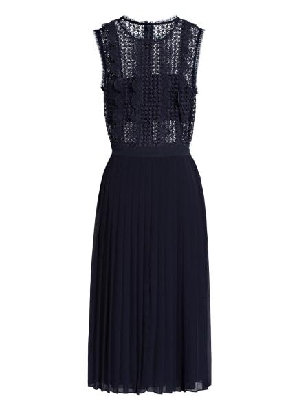 REISS Kleid TENLEY mit Lochspitze, Farbe: DUNKELBLAU (Bild 1)