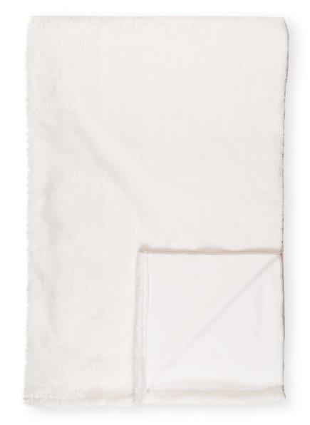 zoeppritz Plaid REBORN BLISS aus Kunstpelz, Farbe: WEISS (Bild 1)