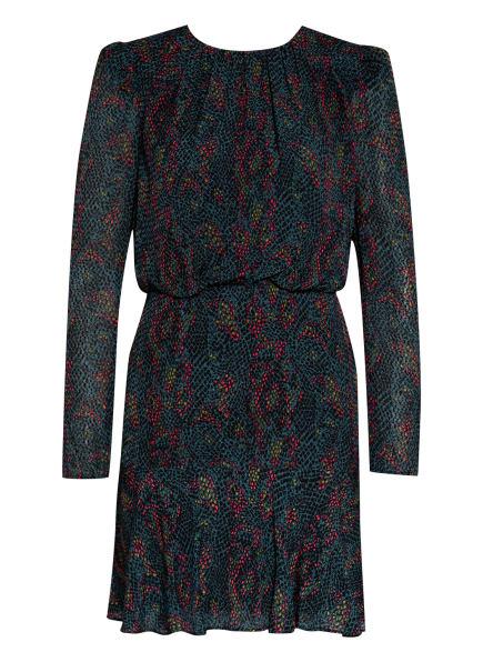 REISS Kleid RENEE, Farbe: DUNKELGRÜN/ SCHWARZ/ PINK (Bild 1)