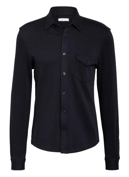 REISS Jerseyhemd SCOTT Slim Fit, Farbe: DUNKELBLAU (Bild 1)