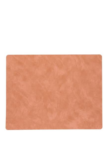 LINDDNA Tischset SQUARE L , Farbe: ORANGE (Bild 1)