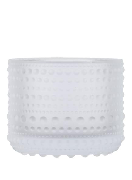 iittala Teelichthalter KASTEHELMI , Farbe: WEISS (Bild 1)