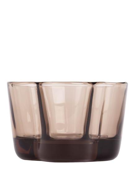 iittala Teelichthalter ALVAR AALTO , Farbe: HELLBRAUN (Bild 1)