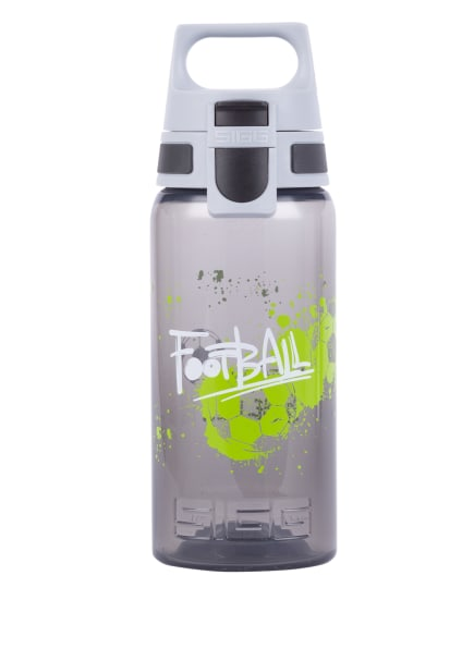 SIGG Trinkflasche VIVA ONE, Farbe: DUNKELGRAU/ HELLGRAU/ NEONGRÜN (Bild 1)