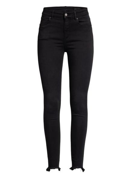 ALL SAINTS Skinny Jeans MILLER, Farbe: SCHWARZ (Bild 1)