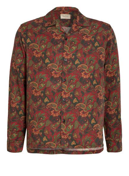 Nudie Jeans Hemd VIDAR Regular Fit, Farbe: OLIV/ DUNKELROT/ DUNKELGELB (Bild 1)