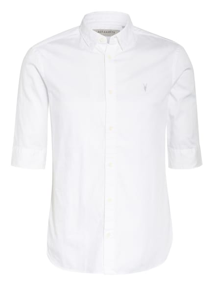ALL SAINTS Halbarm-Hemd REDONDO Slim Fit, Farbe: WEISS (Bild 1)