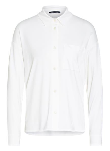 Marc O'Polo Jersey-Hemdbluse, Farbe: ECRU (Bild 1)