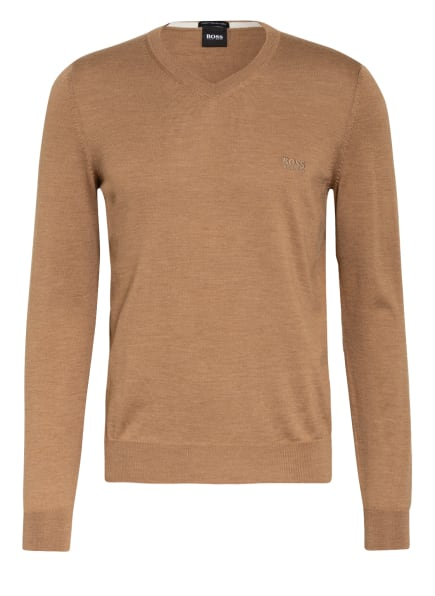 BOSS Pullover BARAM, Farbe: BEIGE (Bild 1)