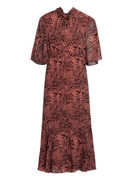 WHISTLES Kleid mit Volantbesatz , Farbe: LACHS/ SCHWARZ (Bild 1)