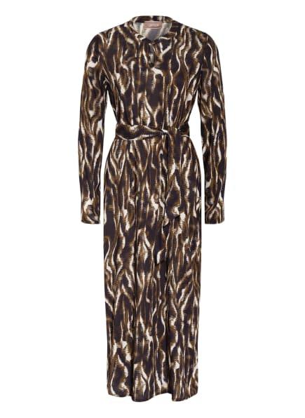 CARTOON Kleid, Farbe: DUNKELBLAU/ KHAKI/ WEISS (Bild 1)
