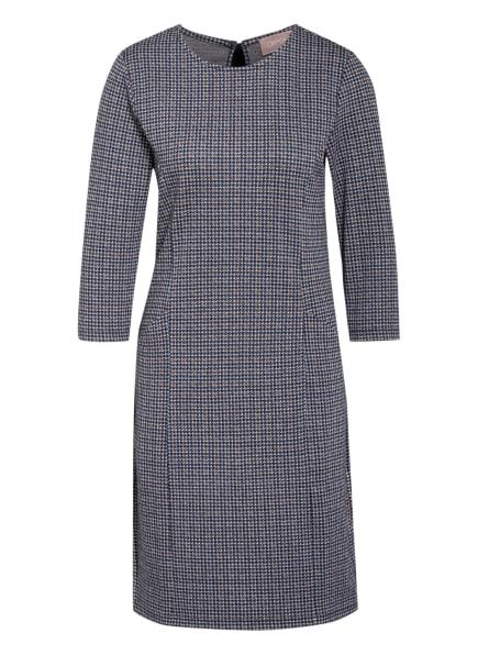 CARTOON Kleid mit 3/4-Arm , Farbe: DUNKELBLAU/ BRAUN/ GRAU (Bild 1)