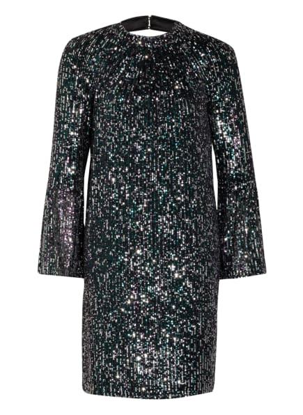 Phase Eight Kleid HENRIKA mit Paillettenbesatz , Farbe: SCHWARZ/ SILBER/ GRÜN (Bild 1)