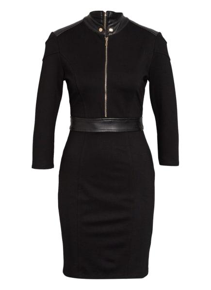 damsel in a dress Kleid im Materialmix , Farbe: SCHWARZ (Bild 1)
