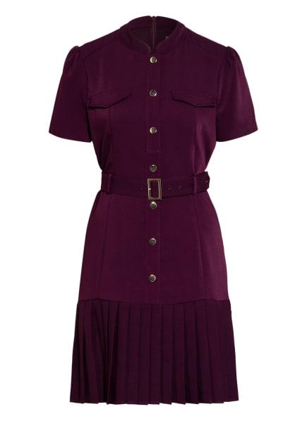 damsel in a dress Kleid LUNA, Farbe: DUNKELLILA (Bild 1)