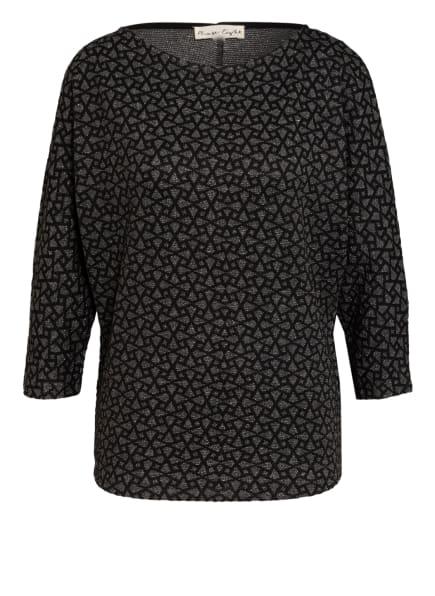 Phase Eight Shirt CAELA mit 3/4-Arm, Farbe: SCHWARZ/ DUNKELGRAU (Bild 1)