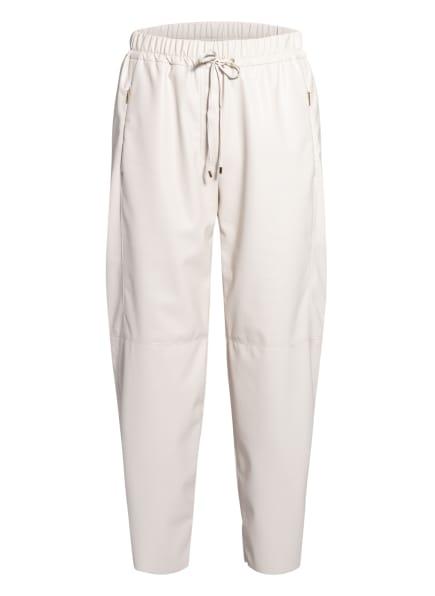 MARC CAIN Hose in Lederoptik, Farbe: 142 PANNA (Bild 1)