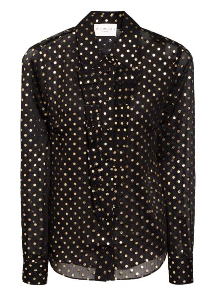 damsel in a dress Bluse ELMA, Farbe: SCHWARZ/ GOLD (Bild 1)