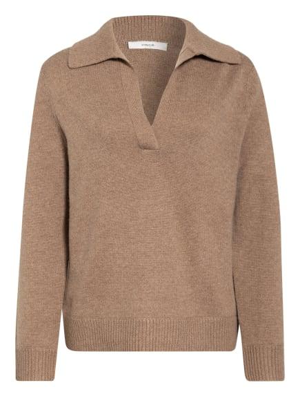VINCE Pullover, Farbe: BRAUN/ CAMEL (Bild 1)