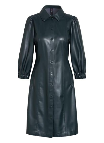 MARC CAIN Kleid in Lederoptik , Farbe: 560 conifer (Bild 1)