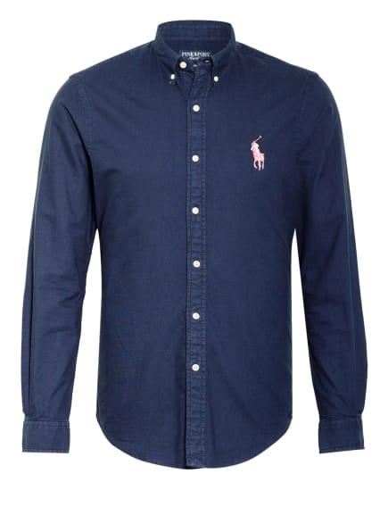POLO RALPH LAUREN Oxfordhemd Slim Fit, Farbe: DUNKELBLAU (Bild 1)