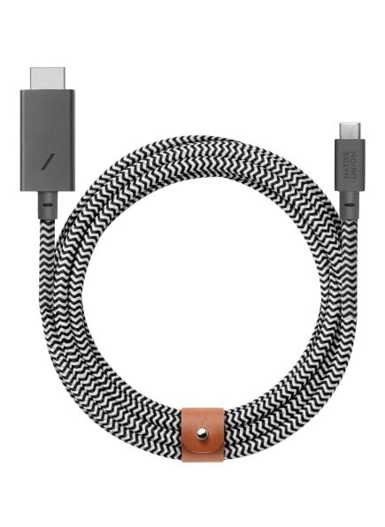 NATIVE UNION USB-Kabel, Farbe: SCHWARZ/ WEISS (Bild 1)