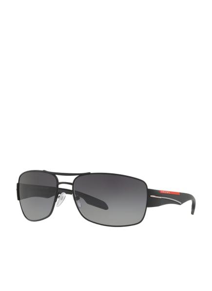PRADA LINEA ROSSA Sonnenbrille PS 53NS, Farbe: DG05W1 - SCHWARZ/ DUNKELGRAU VERLAUF (Bild 1)