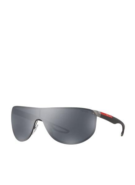PRADA LINEA ROSSA Sonnenbrille PS 61US, Farbe: 5L05L0 - DUNKELGRAU/ GRAU (Bild 1)